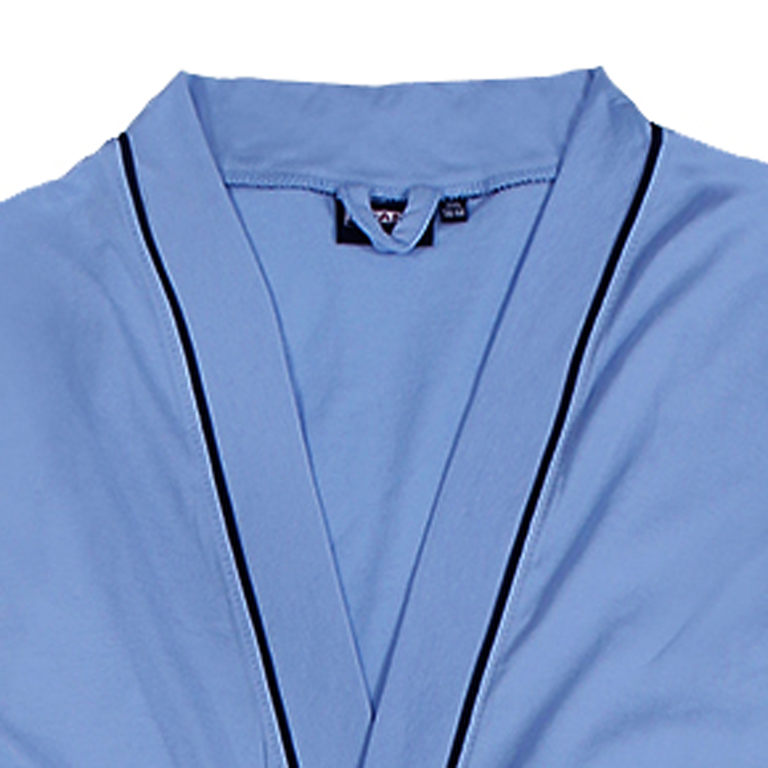 Detail Image to Bathrobe for men in light blue by ADAMO up to oversize 10XL