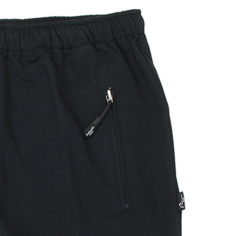 Detailbild zu Schwarze,lange Sport- und Freizeithose von Authentic Klein in Übergrößen von 56 bis 74