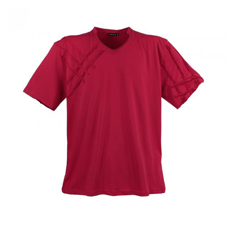 Detailbild zu Rotes Lavecchia T-Shirt in großen Größen von 3XL bis 8XL
