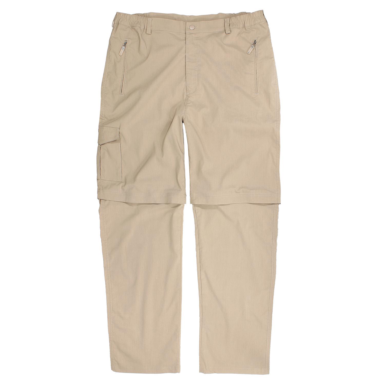 Detailbild zu Outdoor-Zipp-off-Hose in sand von Abraxas bis Übergröße 10XL
