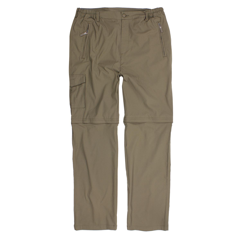Detailbild zu Outdoor-Zipp-off-Hose in khaki von Abraxas bis Übergröße 10XL