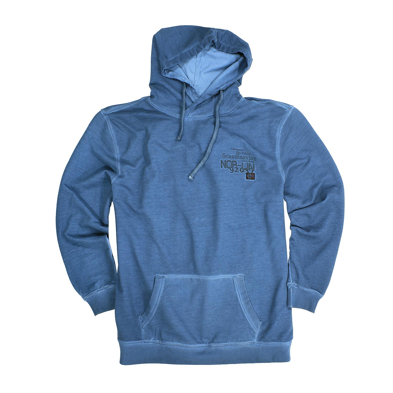 Detailbild zu Übergrößen Kapuzen-Sweatshirt by Kitaro in night blue bis 8XL