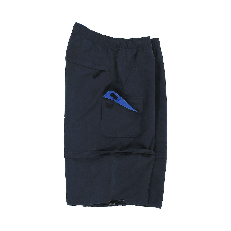 Detailbild zu Marineblaue Zipp-Off-Shorts von Brigg in großen Größen bis 14XL