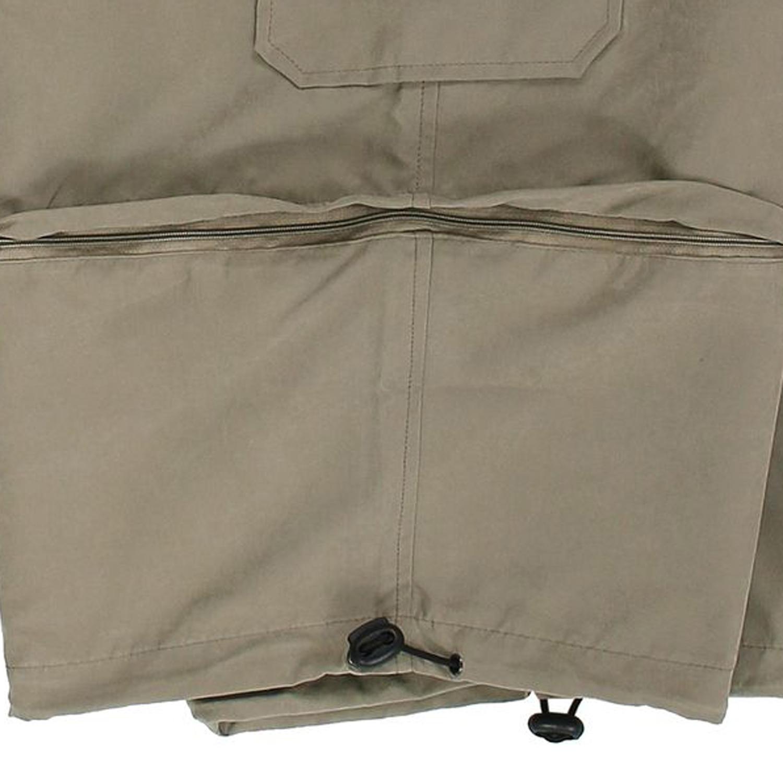 Detailbild zu Brigg Zipp-Off-Shorts schlammfarben in großen Größen bis 14XL