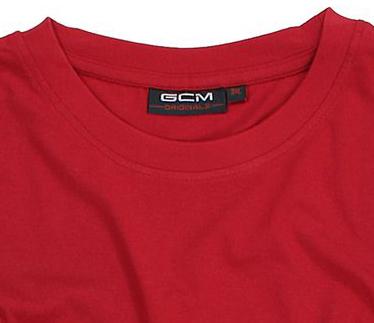 Detailbild zu T-Shirt in Übergrößen für Herren rot von GCM Originals 3XL bis 6XL