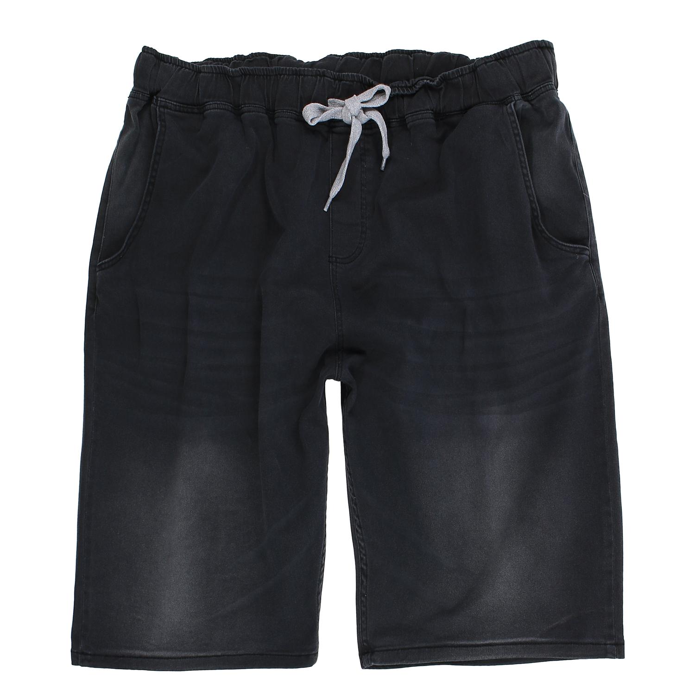 Detailbild zu Übergrößen Jeans-Bermuda in stone-black von Lavecchia bis 8XL