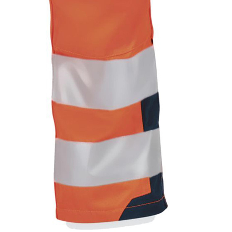 Detailbild zu Orangefarbene Bund-Arbeitshose WARNSCHUTZ von PKA-Klöcker in Übergrößen 58 - 66