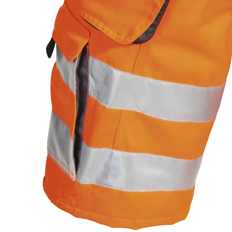 Detailbild zu Arbeitsshort WARNSCHUTZ orange von PKA Klöcker in großen Größen bis 66