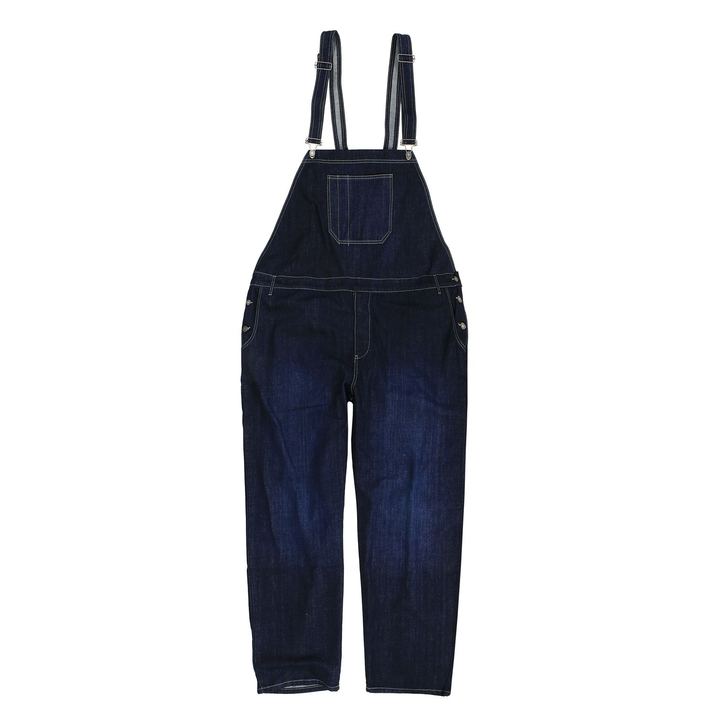 Image de détail de Salopette en jean by Abraxas en grandes tailles jusqu'au 12XL - bleu foncé