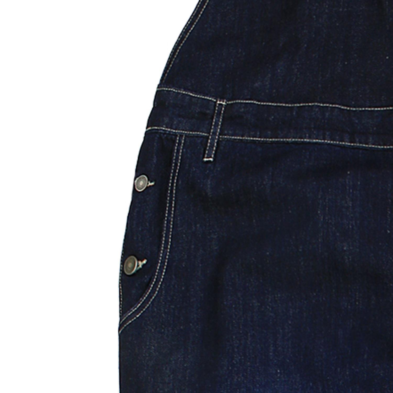Detailbild zu Jeans-Latzhose in dunkelblau- stonewash von Abraxas in Übergrößen bis 12XL