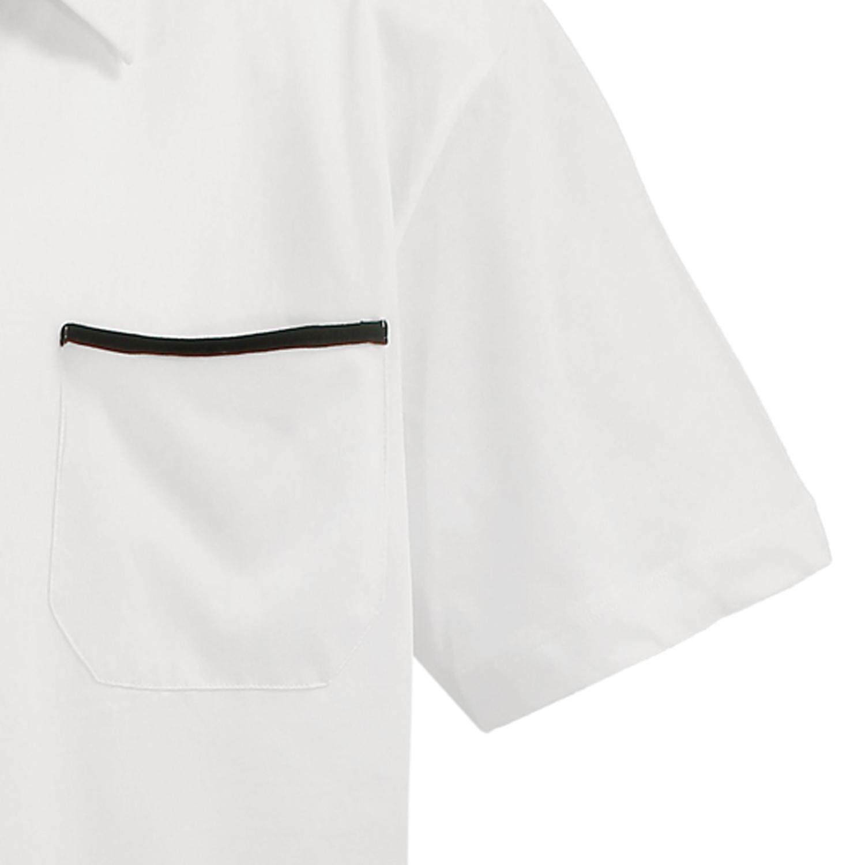 Detailbild zu XXL Poloshirt by Lavecchia cremeweiß in großen Größen bis 8XL