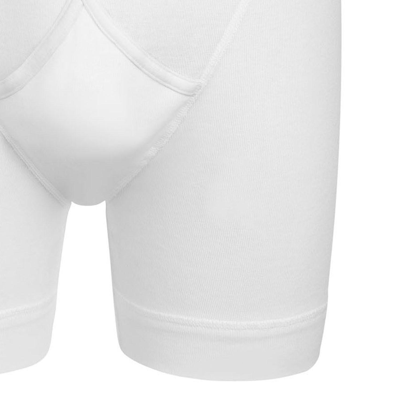 """Detailbild zu Weiße Pant """"Midway Brief"""" in Feinripp von Jockey bis Größe 2XL"""