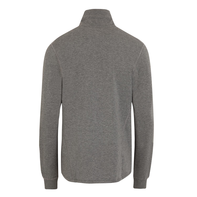 Detailbild zu Bequem geschnittene, hellgraue Jacke in hochwertiger Fleece Qualität von Jockey bis Übergröße 6XL