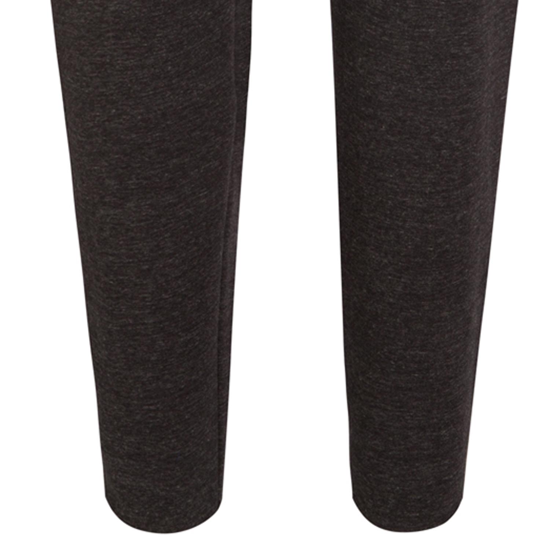 Detailbild zu Weiche Sweathose in feinster Fleece Qualität von Jockey in dunkelgrau mit Gummizug und seitlichen Eingriffstaschen