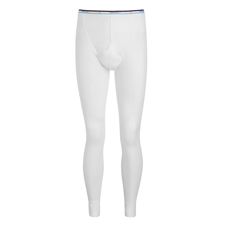 Detailbild zu Lange Unterhose in weiss von JOCKEY für Männer /Größe S - XXL