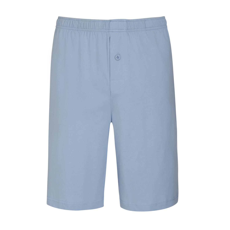 Detailbild zu Kurzer Herren Schlafanzug in hellblau gestreift von Jockey in Normal- und Übergrößen S - 6XL
