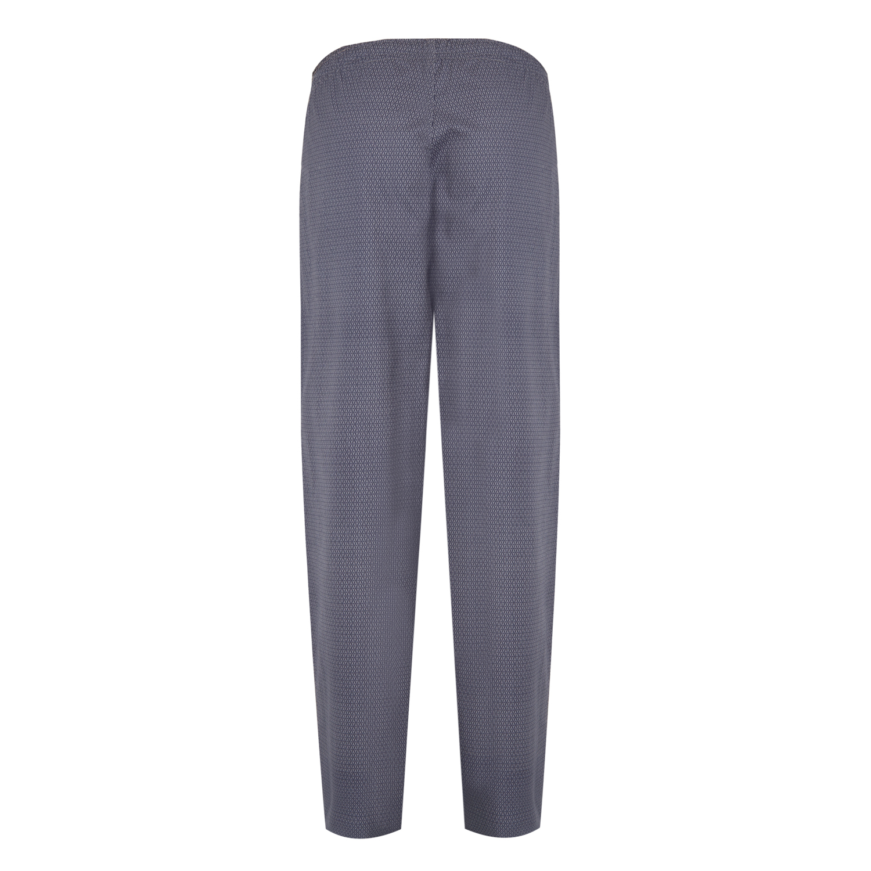 Detailbild zu Graue Herren Pyjamahose gepunktet von Jockey bis 6XL