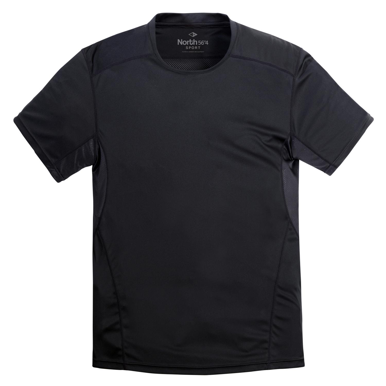 Detailbild zu Herren Sport T-Shirt schwarz von North 56°4 3XL - 8XL