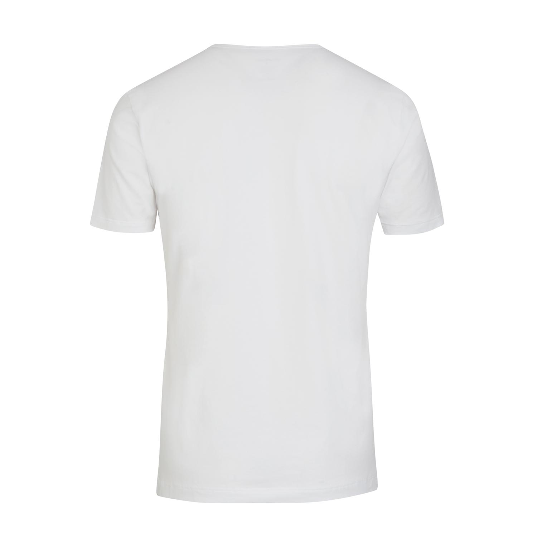 Detailbild zu Kurzarm V-Neck Shirt Modern Stretch von Jockey in weiß ab Größe S bis 2XL