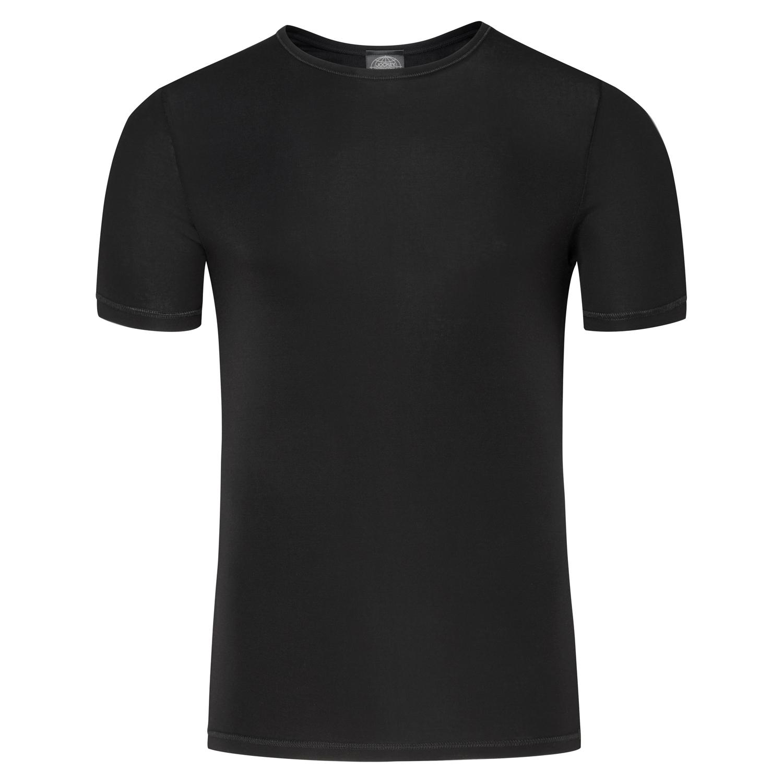 Detailbild zu Unterhemd in schwarz Feinripp von Jockey S - XXL kurzarm für Herren