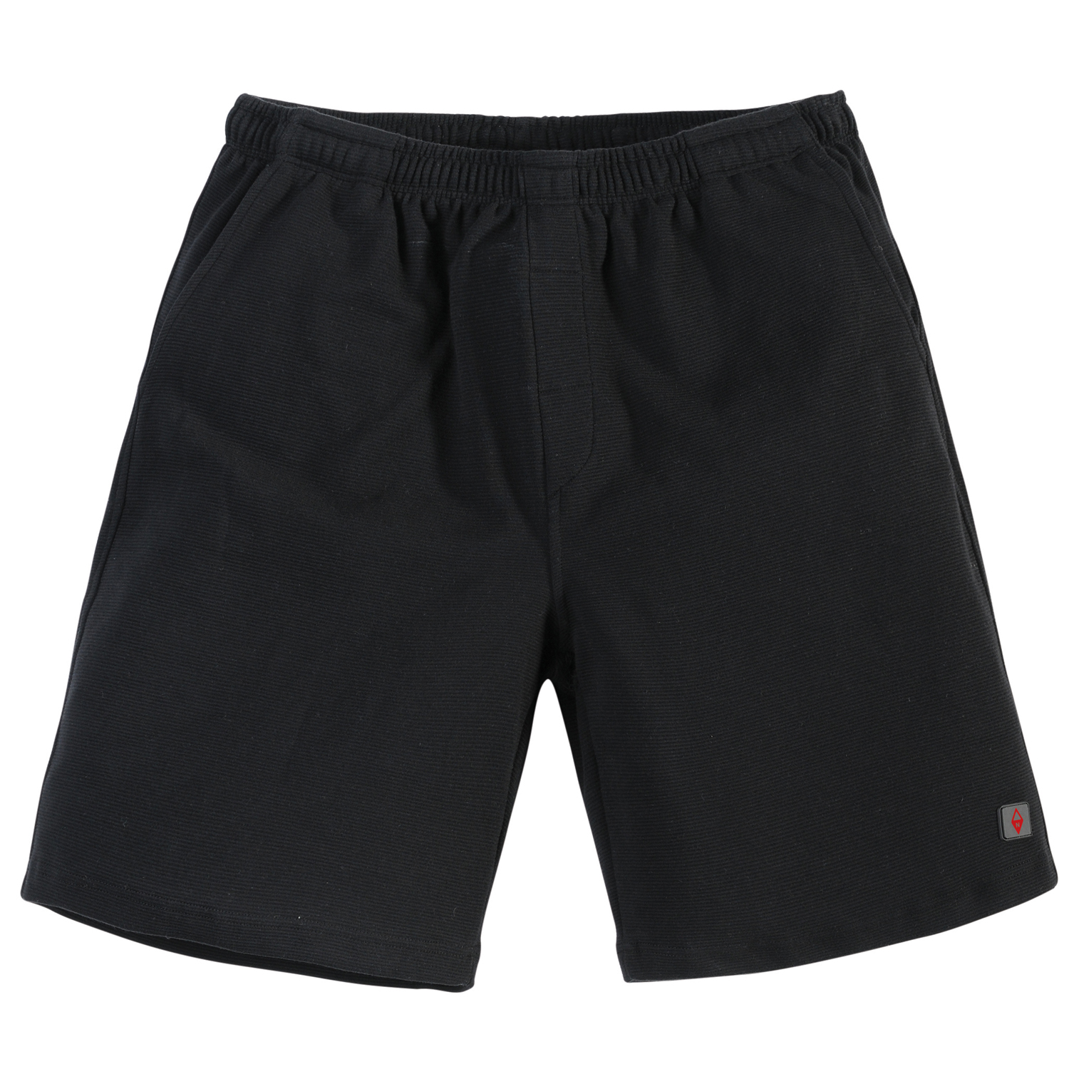 Detail Image to Black sweat shorts for men by North 56°4 in oversizes up to 8XL