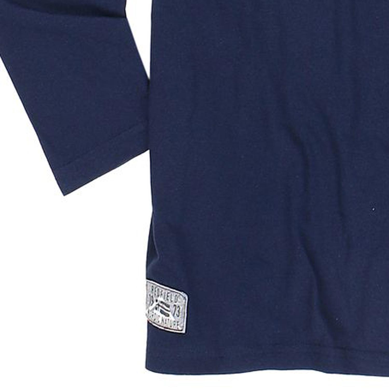 Detailbild zu Herren Langarmshirt in nachtblau von Redfield bis Übergröße 8XL