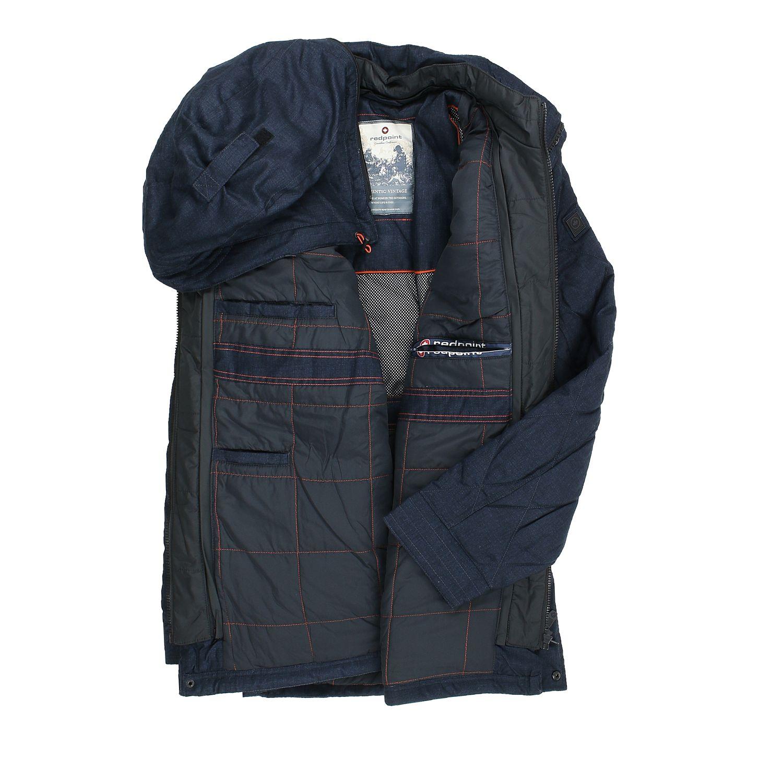 """Detailbild zu Warme Winterjacke """"Peter"""" für Herren von Redpoint in Übergrößen bis 70 dunkelblau"""