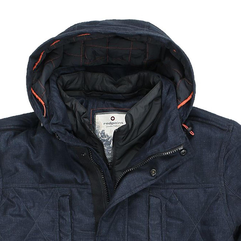 """Image de détail de Veste d'hiver """"Peter"""" de Redpoint grandes tailles 58 à 70 / blue foncé"""