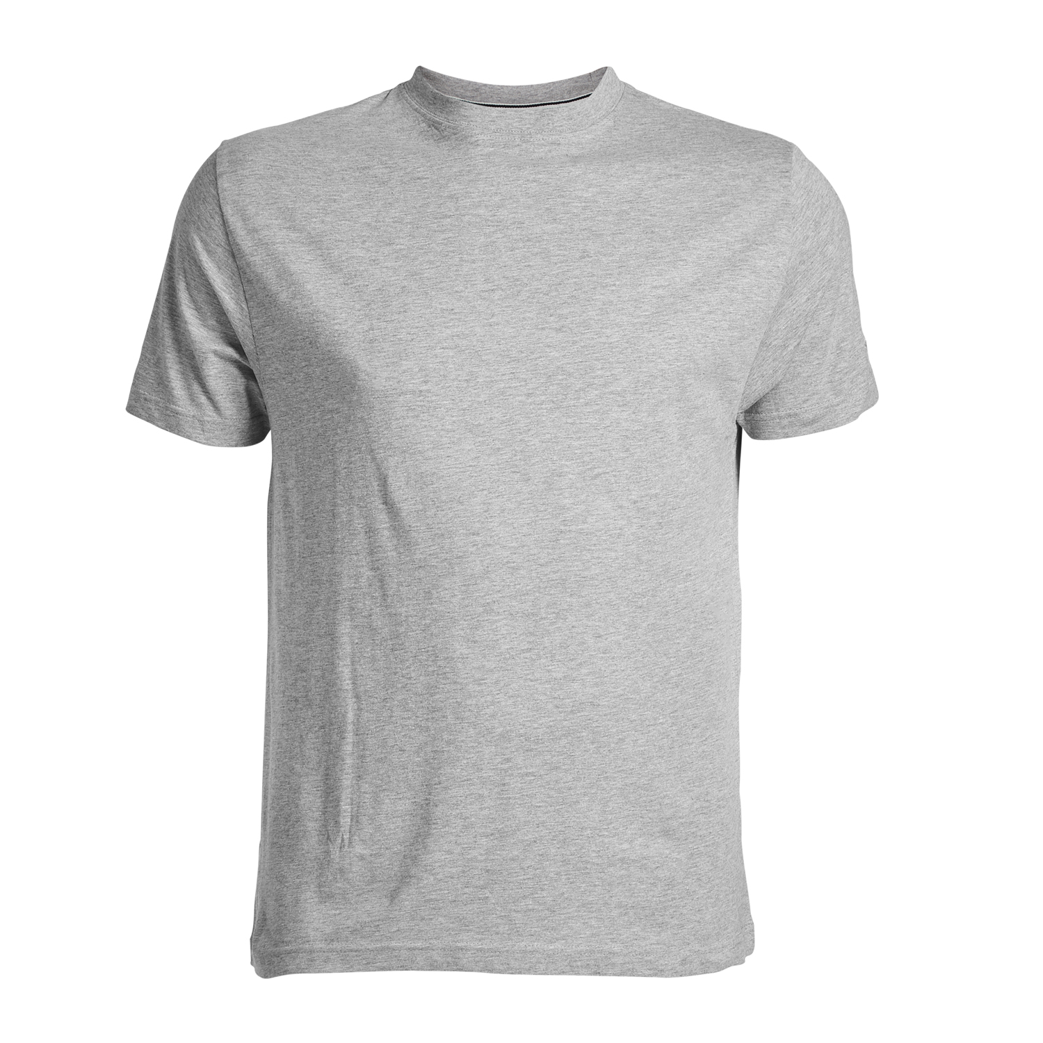 Detail Image to Grey basic t-shirt by North56°4 in oversizes up to 8XL