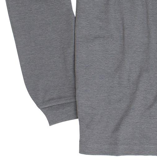 """Detailbild zu Langärmliges Herren Poloshirt """"stay fresh"""" von Hajo in anthrazit bis Übergröße 6XL"""