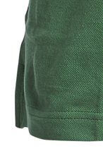 Detail Image to Green pique poloshirt for men by Greyes/North 56°4 in oversizes up to 8XL