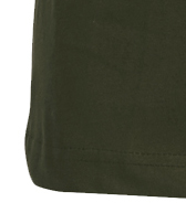Detail Image to Basic t-shirt in olive-green by North 56°4 in extra large sizes until 8XL