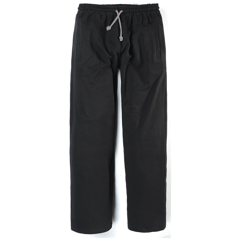 Detailbild zu Jogginghose schwarz für Herren von Greyes/North 56°4 Übergrößen 3XL - 8XL