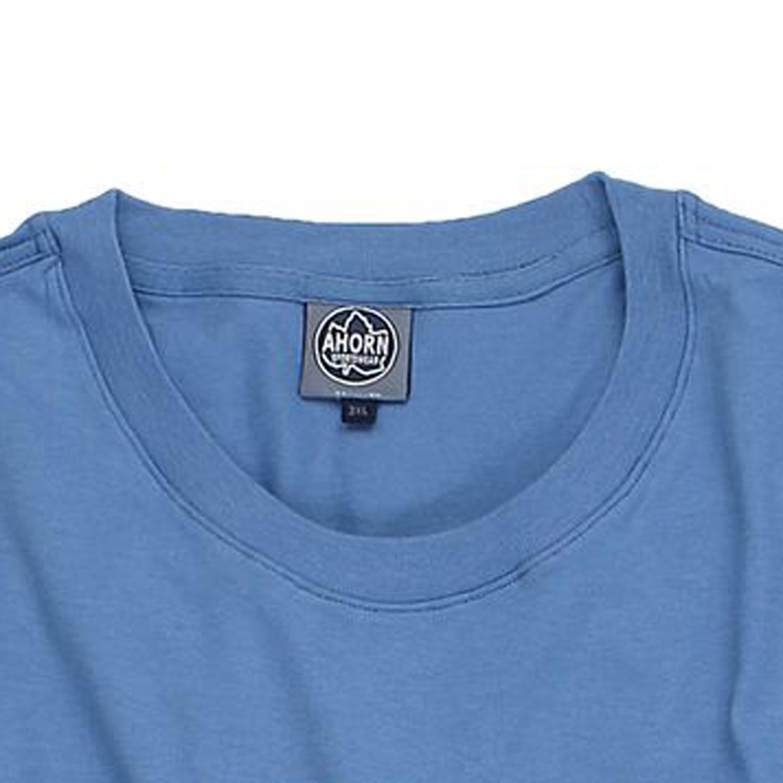 Detailbild zu T-Shirt in parisian blau von Ahorn in Übergrößen 3XL - 10XL