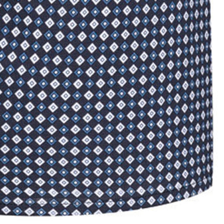 Detailbild zu 2er Pack Herren Webboxershorts von Jockey blau gemustert in den Größen S bis Übergröße 6XL