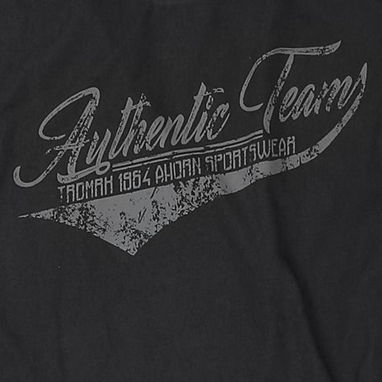 Detailbild zu Herren Langarmshirt von Ahorn Sportswear in Übergrößen 3XL - 10XL schwarz