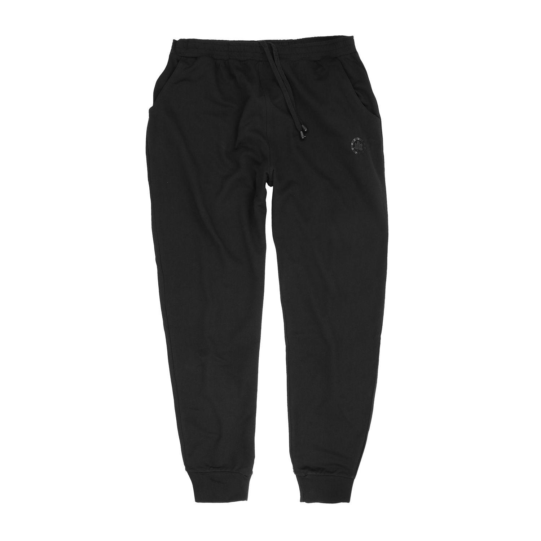 Image de détail de Pantalon sweat noir by Ahorn Sportswear // grandes tailles jusqu'au 10XL