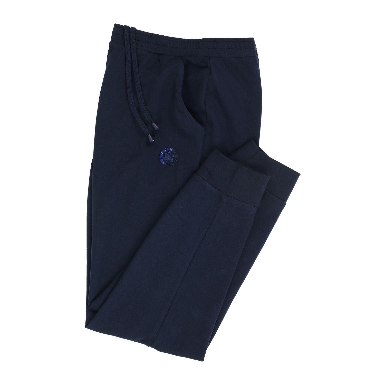 Detailbild zu Dunkelblaue Jogginghose lang von Ahorn Sportswear für Herren in Übergrößen bis 10XL