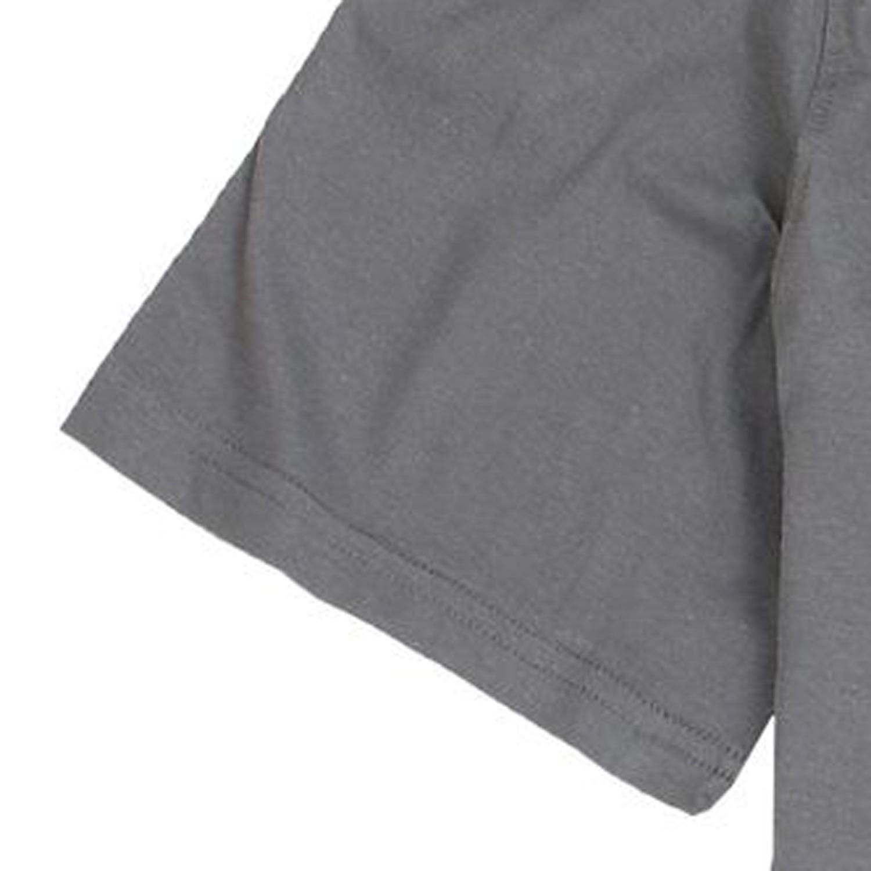 Detailbild zu Graues Rundhalsshirt kurzarm von Redfield in großen Größen 3XL-8XL