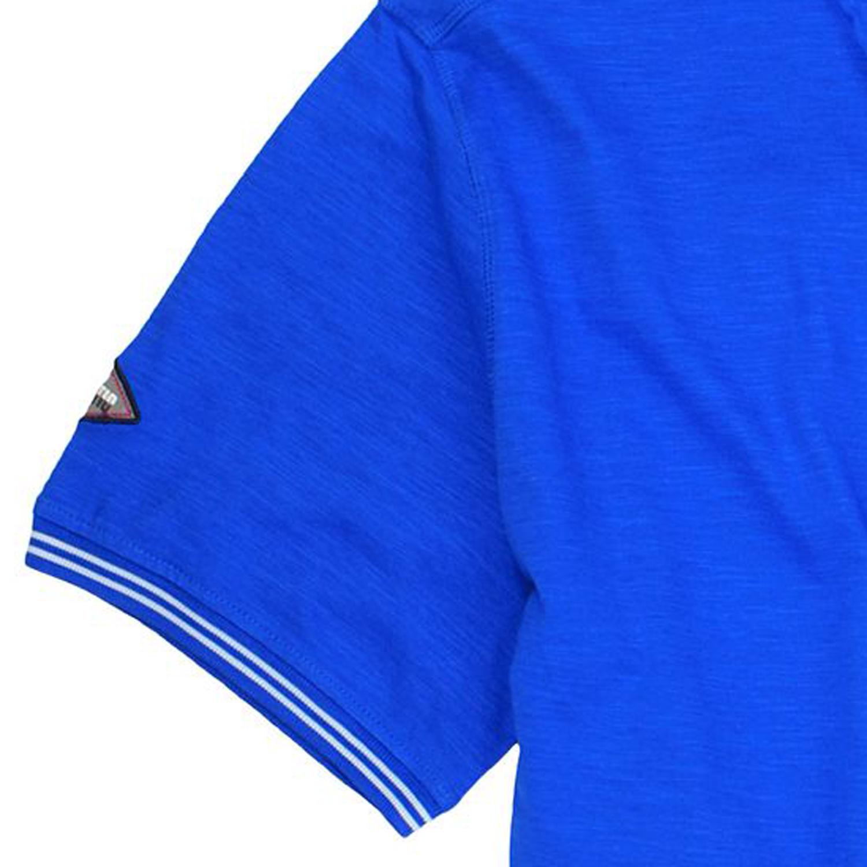 Detailbild zu Herren Henley Shirt in hellblau von Redfield bis Übergröße 8XL