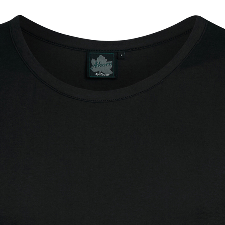Detailbild zu Schwarzes Übergrößen Herren Shirt ohne Arm mit Rundhalsausschnitt von Ahorn Sportswear - Größe XXL bis 10XL