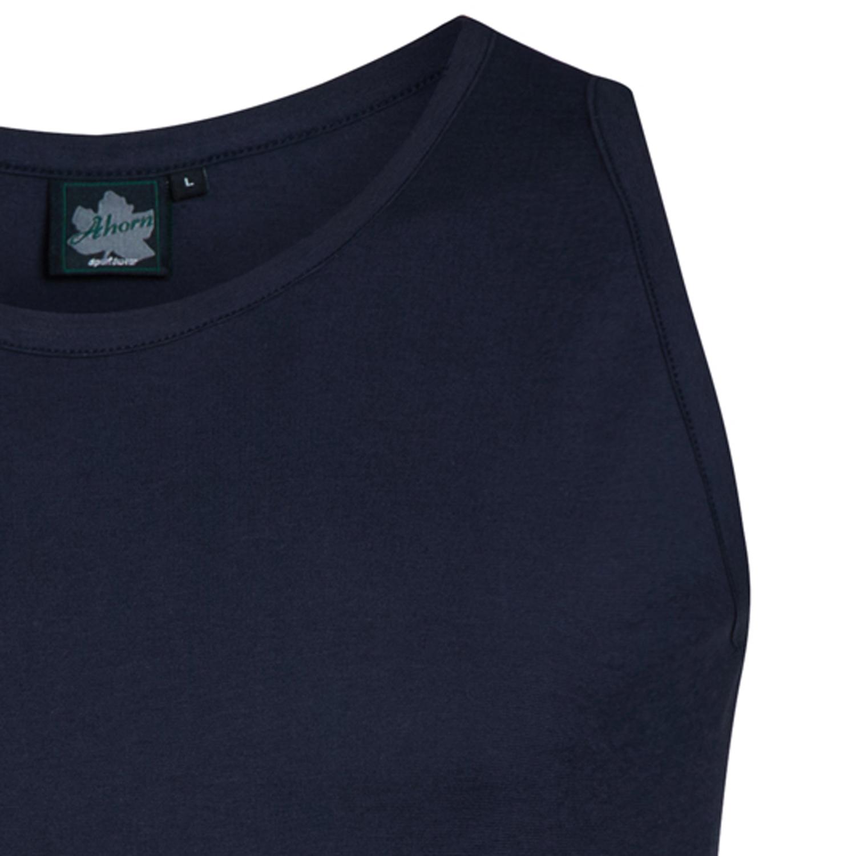 Detailbild zu Achselshirt XXL in dunkelblau für Herren mit Rundhals von Ahorn Sportswear in großen Größen bis 10XL