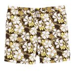 Bathing trunks by eleMar for men brown patterned in oversizes up to 9XL