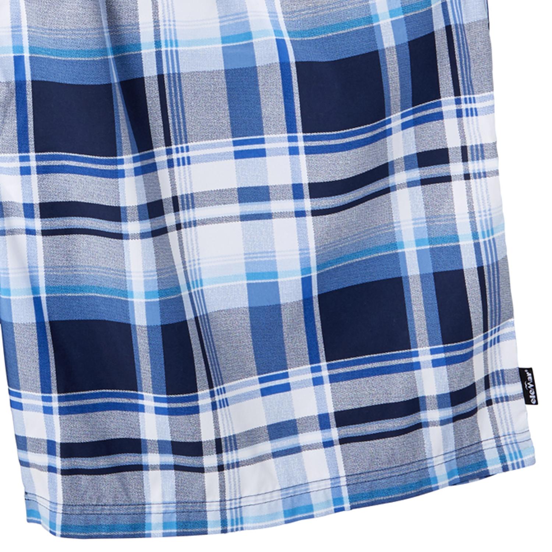 Image de détail de Maillot de bain bleu-blanc à carreaux by eleMar en grandes tailles jusqu'au 10XL