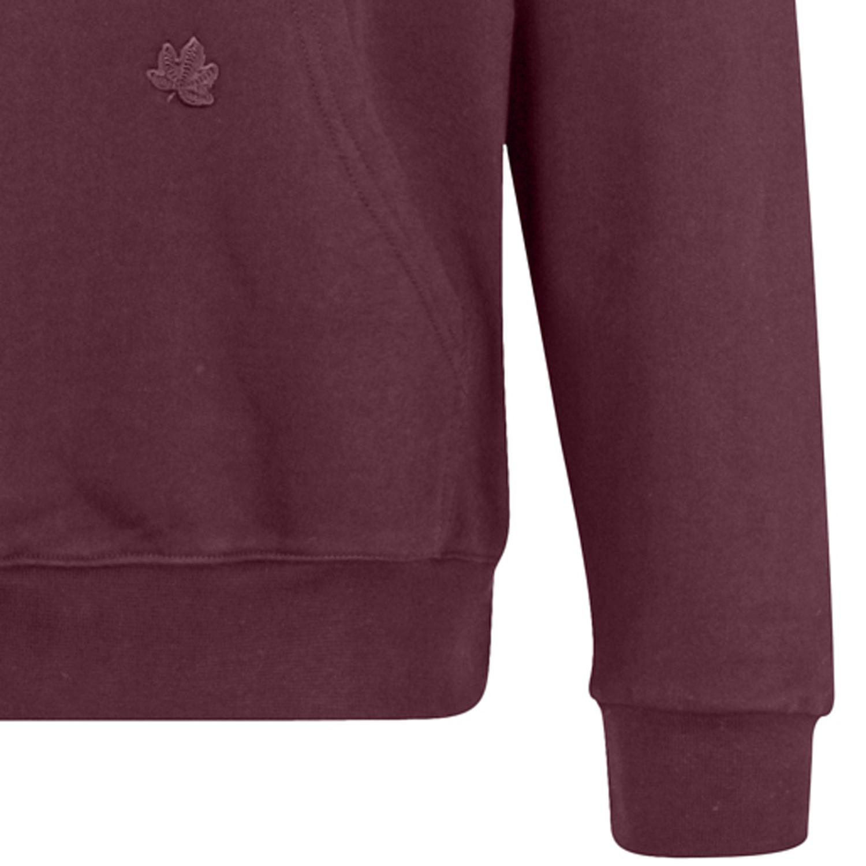Detailbild zu Übergrößen Kapuzen-Sweater von Ahorn Sportswear weinrot bis 10XL für Herren
