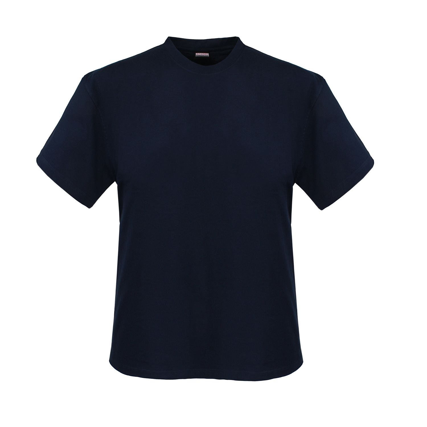 Detail Image to Double pack MARLON navy t-shirt by ADAMO up to extra large size 12XL