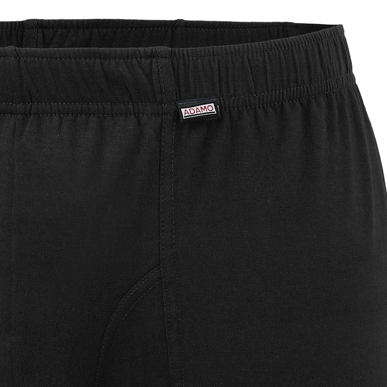 Detail Image to Black double pack JACK maxipants from ADAMO up to plus size 20