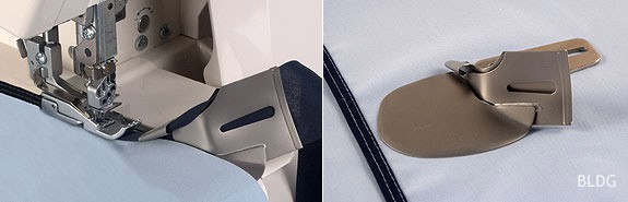 Doppelfaltschrägbinder (Eingang 28 mm / Ausgang 7mm)