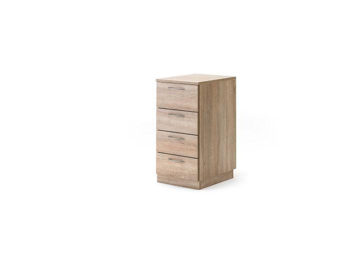 """Schubladencontainer (schmal) mit 4 Auszügen für """"Stack"""" (neu) 34.10"""