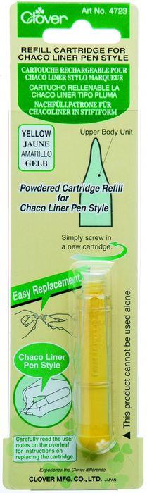 Nachfüllcartridge für Nähkreidestift (gelb)